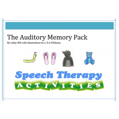 The Auditory Memory Pack (download)